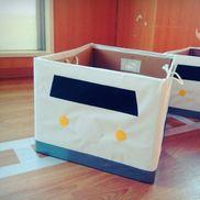 ダンボールde新幹線[材料]・段ボール・模造紙・画用紙・ヒモ