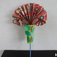 パッと開くびっくりお花〜プレゼントにもうれしい仕掛けおもちゃ〜
