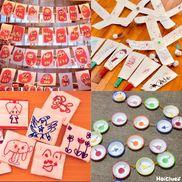 みんなの手作り正月遊びアイディア〜すごろく・めんこ・羽根つき・福笑いなど〜