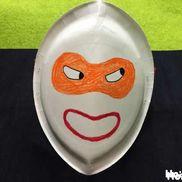 紙皿おもしろ仮面〜材料たったの2つで楽しめる!変身アイテム〜