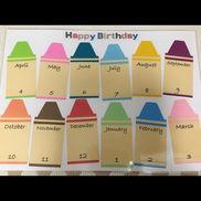 【Birthday表①】クレヨンBox