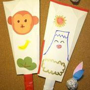 牛乳パック羽子板〜廃材で作る丈夫な羽子板と羽〜
