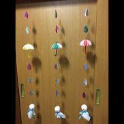 1歳児、お部屋の飾り。