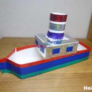 浮かべて楽しい!プカプカ船〜手作り水遊びおもちゃ〜