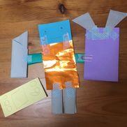折り紙でロボット