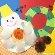 クリスマス気分を盛り上げる!手作りリース14選