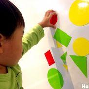 何に見えるかな?おもしろマグネット〜乳児さんにぴったりの手作りおもちゃ〜