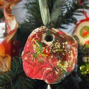 紙粘土のオーナメント〜クリスマスにちなんだ製作飾り〜