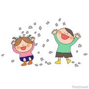 新聞びりびり~おもいっきり楽しめる室内遊び~