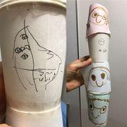 6歳 紙コップ製作