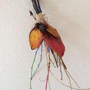 カラフルスワッグ〜秋や冬の季節を閉じ込めた自然と楽しむ製作遊び〜