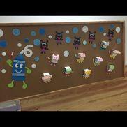 学童保育6月壁面