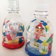 おめでとうドーム〜紙吹雪が舞うペットボトルのお祝い飾り〜