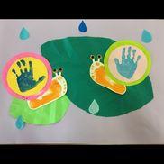 2歳児6月 壁面
