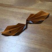 へび4歳折り紙