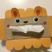 あっかんべ~〜ティッシュの箱に一工夫!毎日使うものをもっと楽しく〜