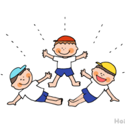 少人数から大人数まで楽しめる!組体操の表現方法6選