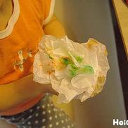 くしゅくしゅフラワー〜乳児さんも楽しめる製作あそび〜