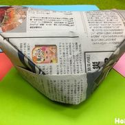新聞紙ぼうし〜新聞紙1枚でできあがる!簡単手作りぼうし〜