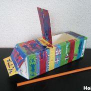 牛乳パックの帆かけ船〜ひと吹きでグングン進む水遊びおもちゃ〜