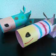 くるくるおさかなロケット〜身近な廃材を使った飛ばして楽しむ製作遊び〜