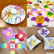 みんなの手作りコマアイディア〜丸、三角、四角、花型など色々な形のコマ8作品〜