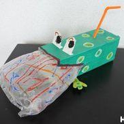 ぷく〜っと膨らむ泡ぶくカエル〜変化が楽しい手作りおもちゃ〜