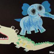 動く動物人形〜画用紙とホチキスだけで楽しめる製作遊び〜